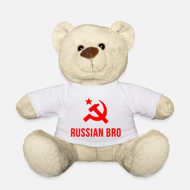 Russian russian bro russian brother - Teddy Bear