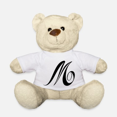 Initial INITIAL M - Ours en peluche