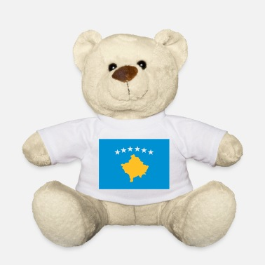 Kosovo Kosovo flag - Teddy Bear