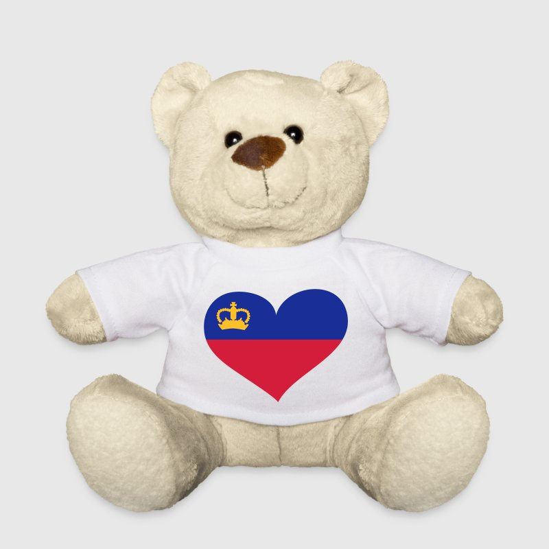 Liechtenstein Herz; Heart Liechtenstein - Teddy Bear