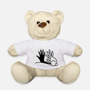 Shadow Puppet hand shadow rabbit 2 clr - Teddy Bear