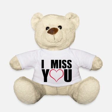 I miss you geschenk - Teddy