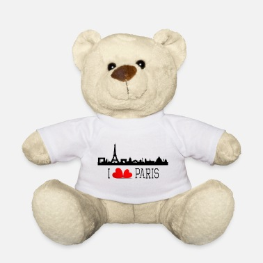 I love paris - Ours en peluche