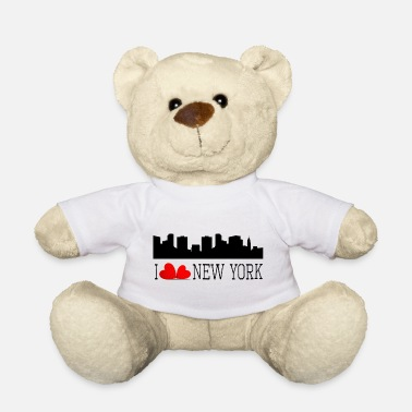 I love new york - Ours en peluche