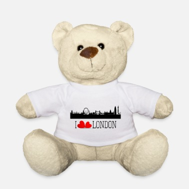 I love london - Ours en peluche