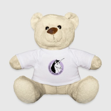 unicorn rose immortal love fairy mystical Wonderland - Teddy Bear