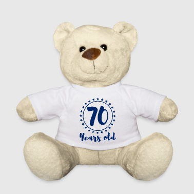 70. Birthday: 70 Years Old - Teddy Bear