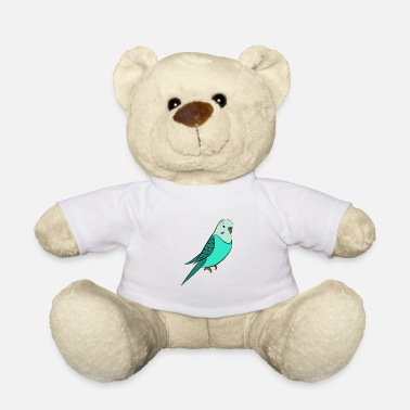 Budgie Budgie turquoise - Teddy Bear