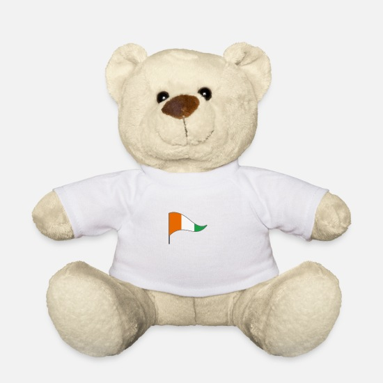 Homesickness Teddy Bear Toys - Ivory Coast - Teddy Bear white
