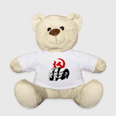 Lenin marx engels lenin revolution russia 1917 october - Teddy Bear