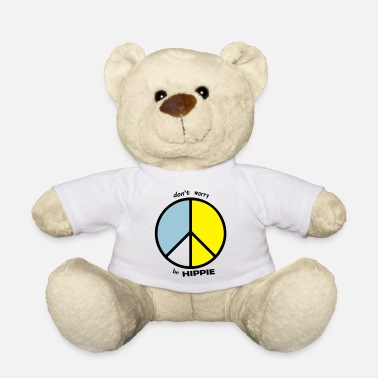 Hippie Movement be hippie - Teddy Bear