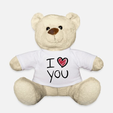 Saint Valentin i_love_you__f2 - Ours en peluche