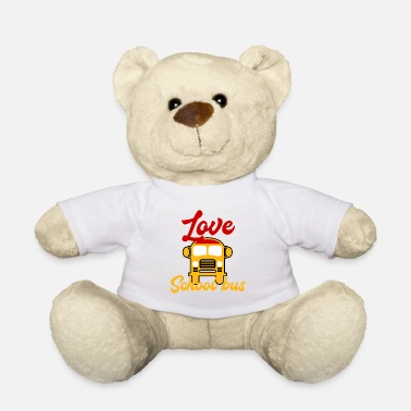 School Bus School bus Bus driver Bus way to school School children - Teddy Bear