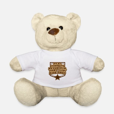 Line Cowboy, Western, Country Music, Horses, Line Dance - Teddy Bear