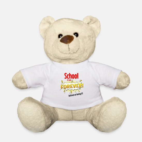 Graduation Party Teddy Bear Toys - graduation shirt - Teddy Bear white