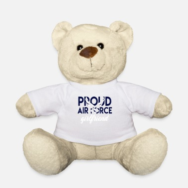 Airforce Women Pride US Army Gift Proud Airforce - Teddy Bear