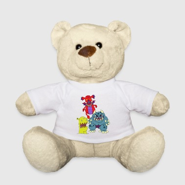 Children's scary monsters terrible shapes - Teddy Bear