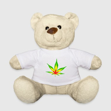 Hemp Weed Grass Drugs Shit - Teddy Bear