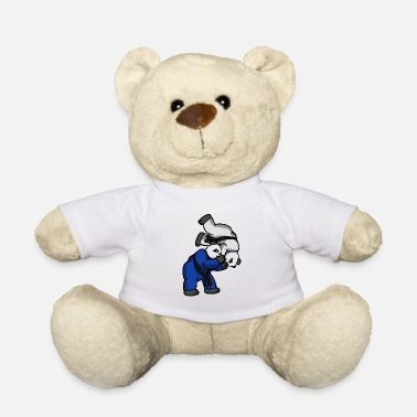 Jiujitsu Panda Hip Throw - BJJ JiuJitsu MMA Shirt - Teddy Bear