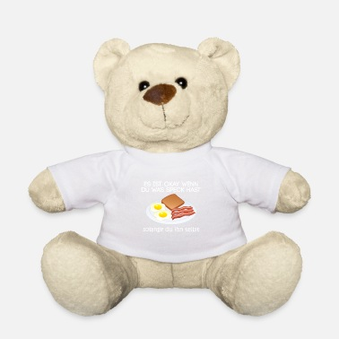 Officialbrands Speck ist okay T-Shirt - Teddybär