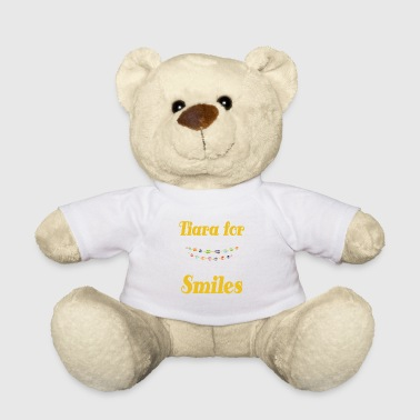 Tiara for smiles braces brace girls girl mother gift tee - Teddy Bear