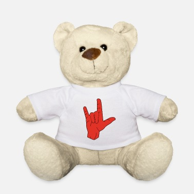 Hand Sign Hand sign sign language love - Teddy Bear
