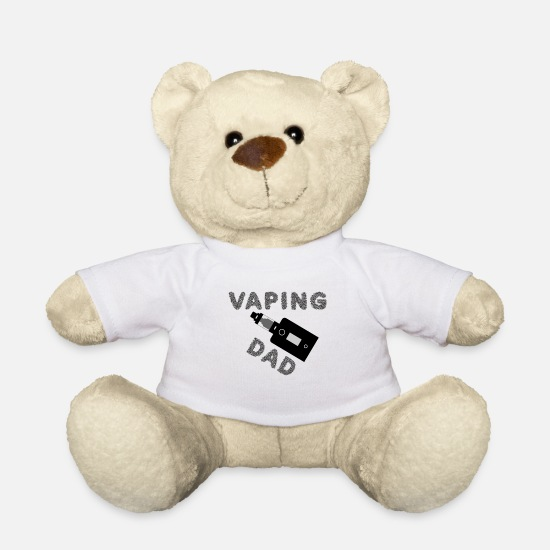 Pyro Peluches - Vaping - Vaping Dad - Osito de peluche blanco
