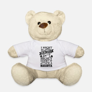 Coffee Latte Coffee, espresso, coffee, latte, gift idea - Teddy Bear