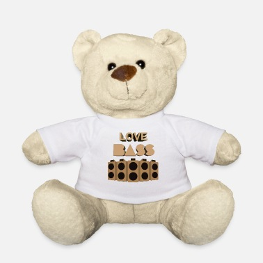 Techno Bass Bass Love Techno Electro - Teddy Bear