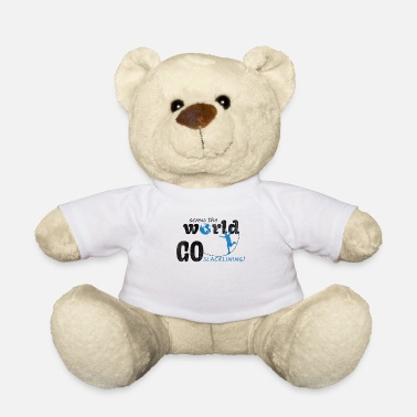 Slack screw the world go slacking, slackline t shirt - Teddy Bear