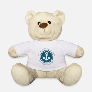 Coast Guard Coast guard anchor gift - Teddy Bear