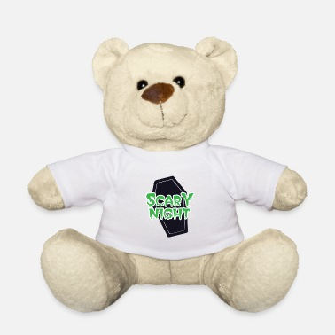 Casket HAPPY HALLOWEEN Terrible night casket - Teddy Bear