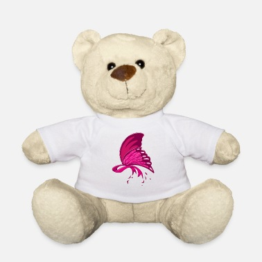 Octobre Sensibilisation au cancer du sein du papillon rose - Nounours