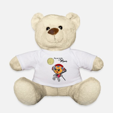 Navette Spatiale Fly me to the Moon Tshirt Idée cadeau pour chat - Nounours