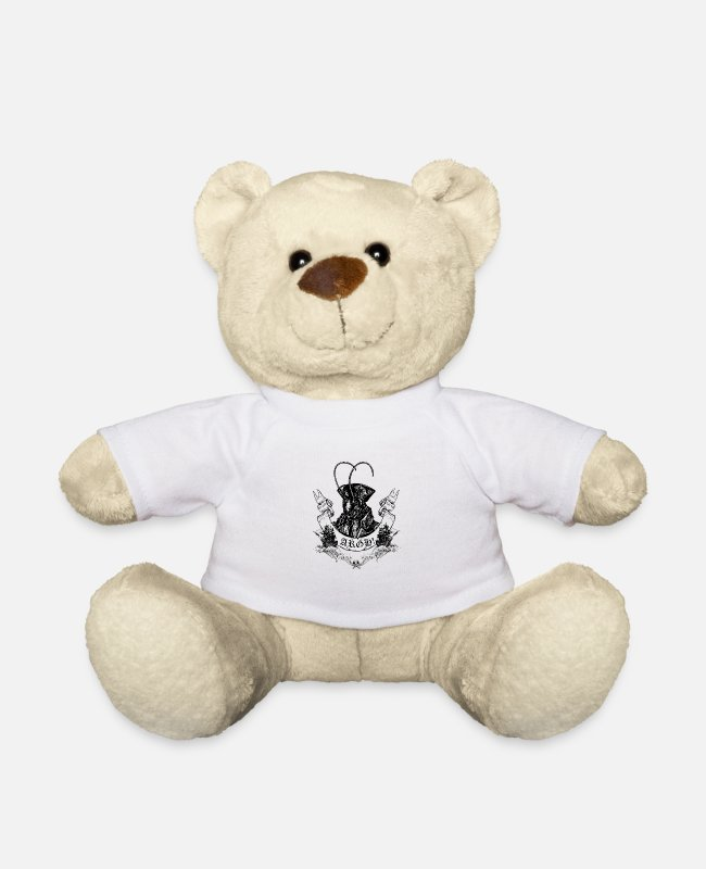 Travel Teddy Bear Toys - Columbus travel sailing pirate - Teddy Bear white