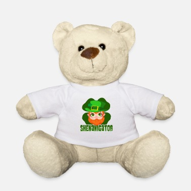 Quotes St Patricks Day Party Shirt Shamrock Beer Gift - Teddy Bear
