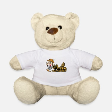 Tourist I LOVE MADRID Spain Capital Tourist Gift - Teddybeer