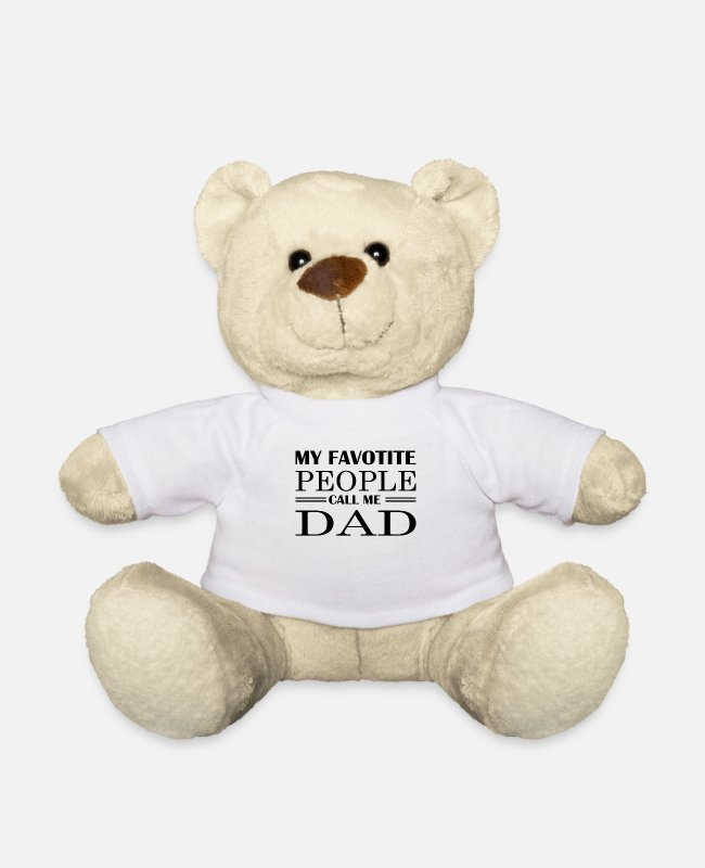 Father's Day Teddy Bear Toys - Father's Day Quote Father Father Father Father Father Gesch - Teddy Bear white