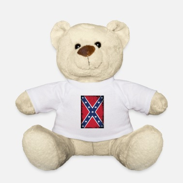 Southern States Confederate States of America Flag Southern States - Teddy Bear