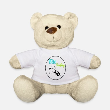 Kite Boarding Kite Surfing, Kite Boarding, Kite Surfers T-Shirt - Teddy Bear