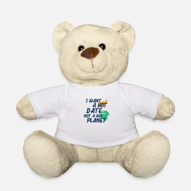 Biology Climate Change Earth Day Hot Planet - Teddy Bear