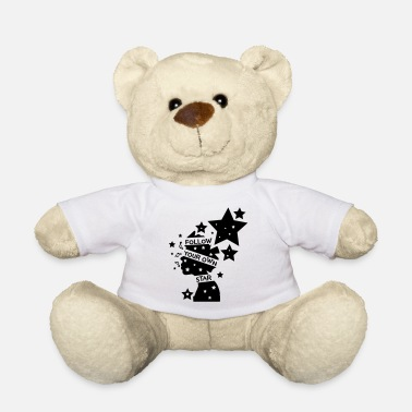 Cool Art Follow your own star c2 - Teddy Bear