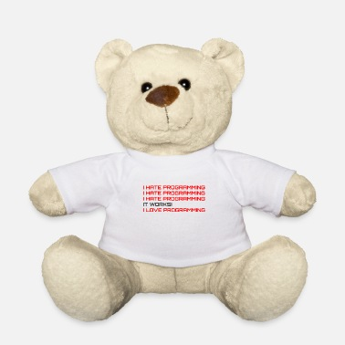 Code Computerprogrammierer Codierer Software Engineers Geschenk - Teddybär