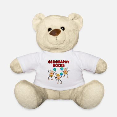 Geography Geography Rocks - Teddy Bear