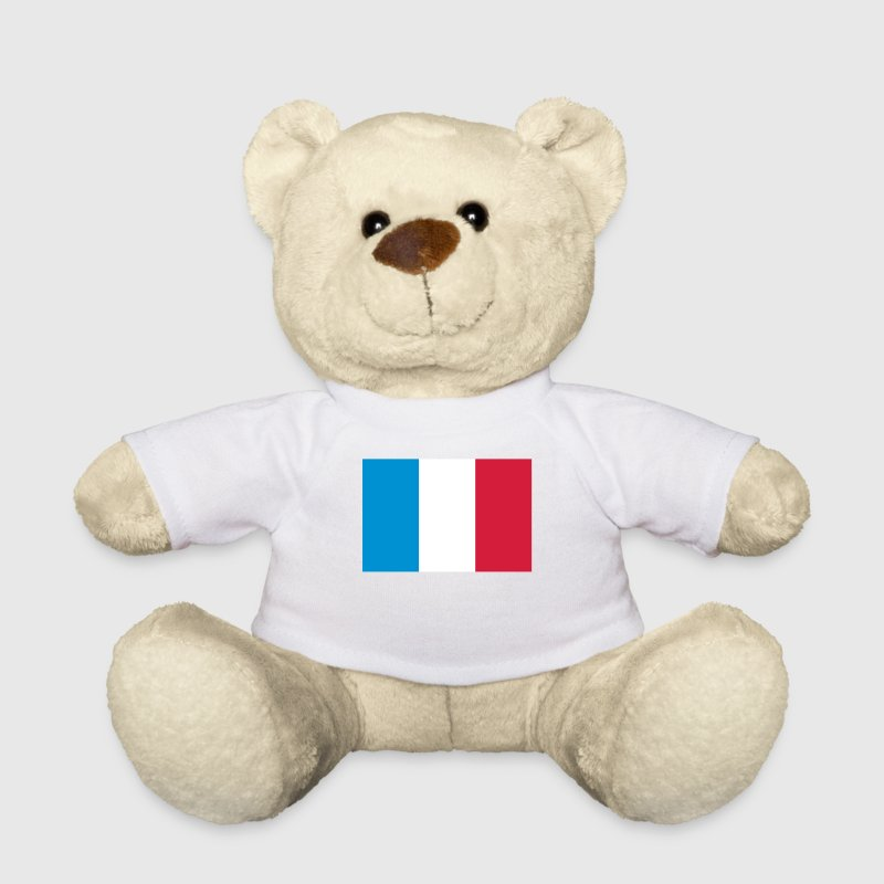 National flag of France - Teddy Bear