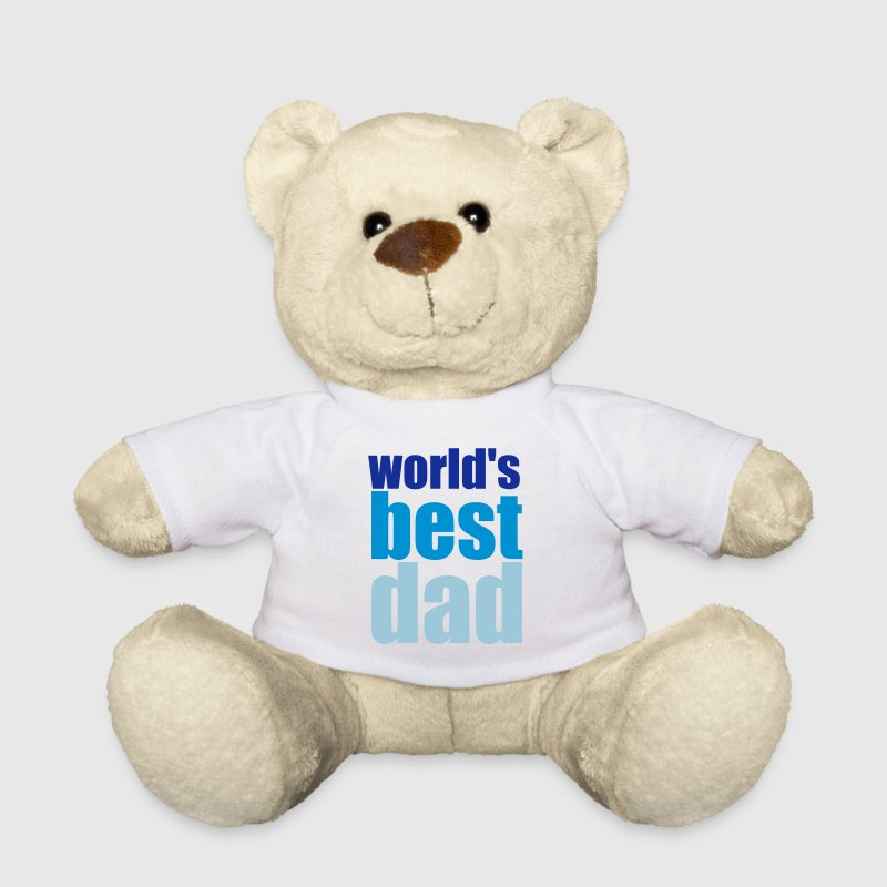 world's best dad - Teddy Bear