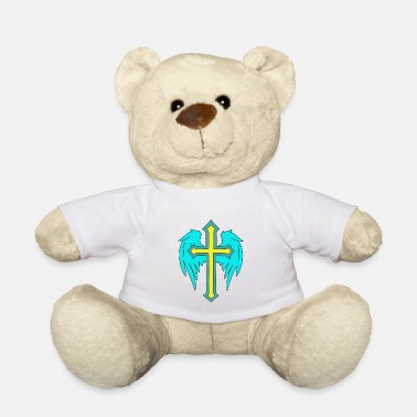 Hippie Movement Angel wings cross - Teddy Bear