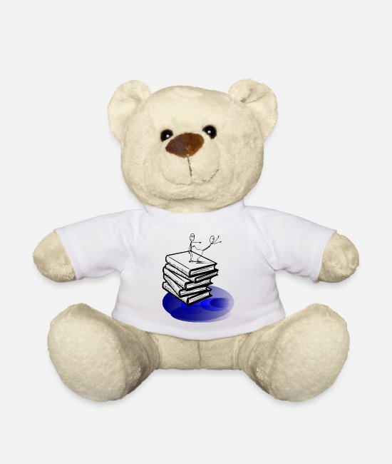 Streetdance Teddy Bear Toys - Comic book - Teddy Bear white