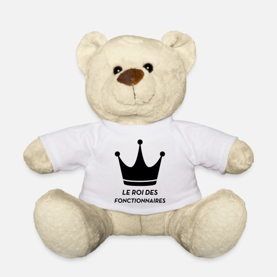 Country Teddy Bear Toys - Official Public Service Beamte Fonctionnaire - Teddy Bear white