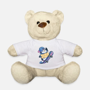 South Penguin South Pole Skateboard Gift - Teddy Bear